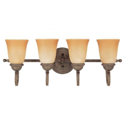 Sea Gull Lighting 49034BLE-71 Four-light Brandywine Wall/bath