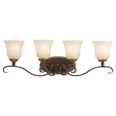 Sea Gull Lighting 49383BLE-829 Four-Light Fluorescent Wall/Bath
