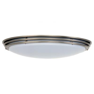 Sea Gull Lighting 59153BLE-962 Flourescent Three-Light Close to Ceiling