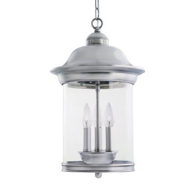 Sea Gull Lighting 60081-965 Hermitage - Three Light Outdoor Pendant