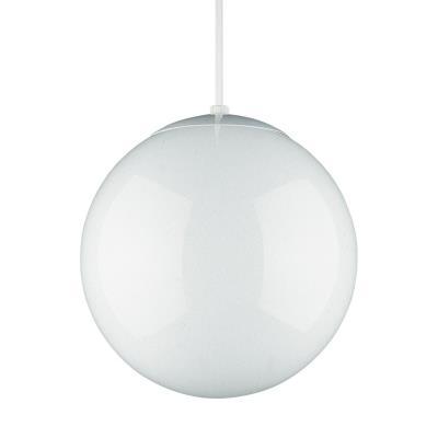 "Sea Gull Lighting 6020-15 10"" Glass Globe Pendant"