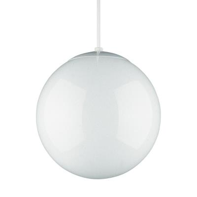"Sea Gull Lighting 6024-15 14"" Glass Globe Pendant"