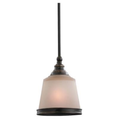 Sea Gull Lighting 61330-825 Single-Light Warwick Mini-Pendant