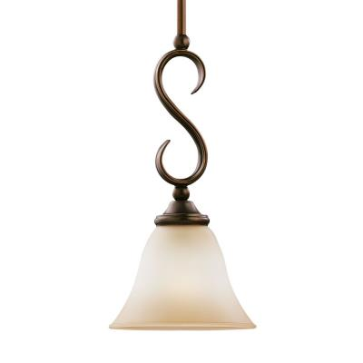 Sea Gull Lighting 61360-829 Single-Light Rialto Mini-Pendant