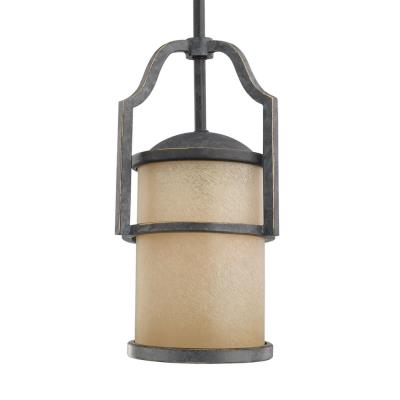 Sea Gull Lighting 61520-845 One Light Flemish Bronze Pendant