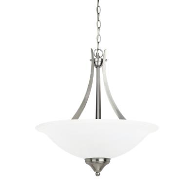 Sea Gull Lighting 65175-962 Brockton - Three Light Pendant