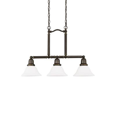 Sea Gull Lighting 66061-782 Three-light Sussex Pendant