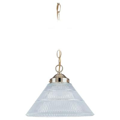 Sea Gull Lighting 6671-02 Single Light Pendant
