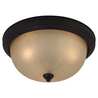 Sea Gull Lighting 77165-820 Del Prato - Three Light Flush Mount