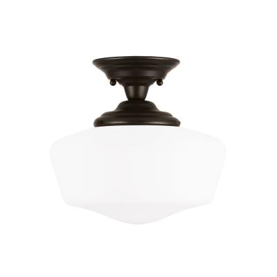 Sea Gull Lighting 77437-782 Academy - One Light Semi-Flush Mount