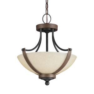 Corbeille - Two Light Convertible Pendant