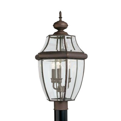 Sea Gull Lighting 8239-71 Three Light Outdoor Post Fixture