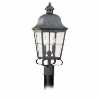 Sea Gull Lighting 8262-46 Two-Light Colonial Outdoor Post Lantern