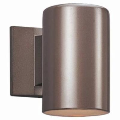 "Sea Gull Lighting 8339-10 Bullets - One Light 9"" Outdoor Wall Lantern"