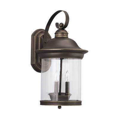 Sea Gull Lighting 88083-71 Three-light Hermitage Wall Lantern