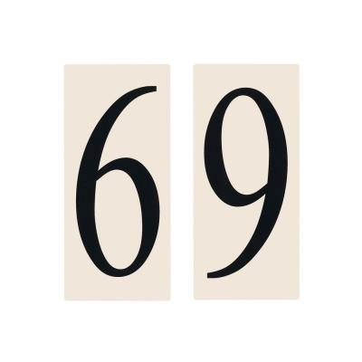 Sea Gull Lighting 90616-60 Address Light Number Tile
