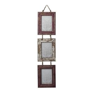 """8"""" Decorative Picture Frame with Natural Rope Hanger"""