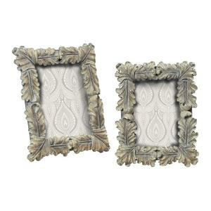 """Florintine - 11"""" Square Scroll Picture Frame - Set of 2"""