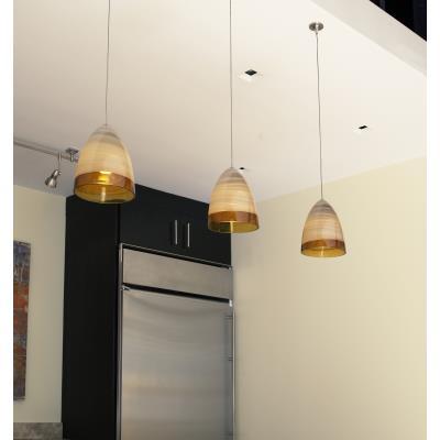Tech Lighting 700FJNEBLA Nebbia - One Light FreeJack Low Voltage Pendant