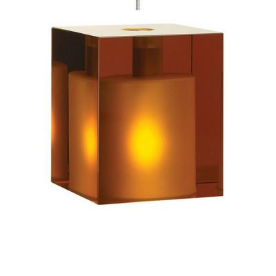 Tech Lighting 700KLCUB Cube - One Light Kablelite Low Voltage Pendant