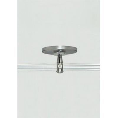 "Tech Lighting 700MO2P4C02 Accessory - 4"" Round Power Feed Canopy Single Feed Two-Circuit Monorail"