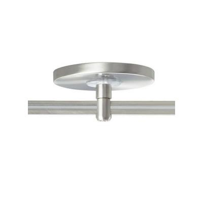 "Tech Lighting 700MOP4C01 Accessory - 4"" Monorail Low-Profile Single-Power Feed Canopy"
