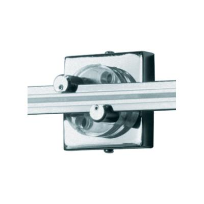 "Tech Lighting 700WMOP2S Accessory - 2"" Square Single Feed Wall Monorail Canopy"