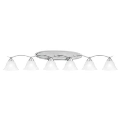 Thomas Lighting SL748678 Prestige - Six Light Bath Bar