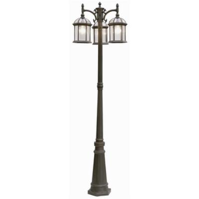 Trans Globe Lighting 4189 Classic - Three Light Outdoor Pole - Down