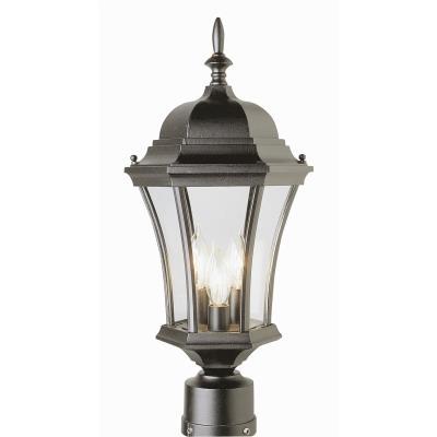 Trans Globe Lighting 4504 The Standard - Three Light Outdoor Post Mount
