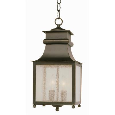 Trans Globe Lighting 45633 Two Light Outdoor Hanging Lantern