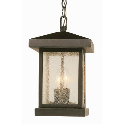 Trans Globe Lighting 45643 Two Light Outdoor Hanging Lantern