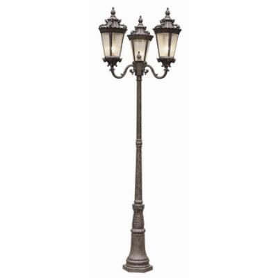 Trans Globe Lighting 4844 Three Light Outdoor Pole