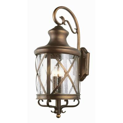 Trans Globe Lighting 5122 ROB Four Light Outdoor Wall Lantern