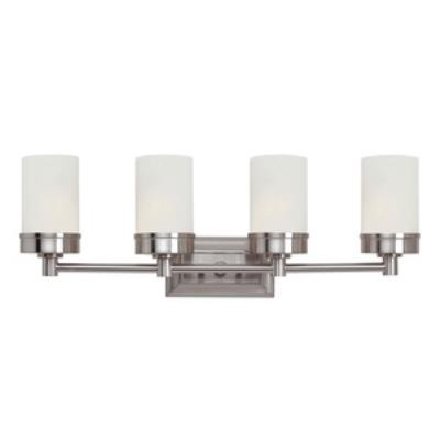 Trans Globe Lighting 70334 BN Urban Swag - Four Light Bath Bar