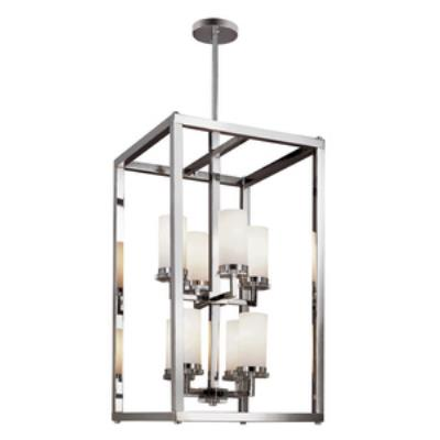 Trans Globe Lighting 70348 PC Pop Indie - Eight Light 2-Tier Foyer
