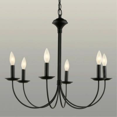 Trans Globe Lighting 9016 New Century - Six Light Chandelier