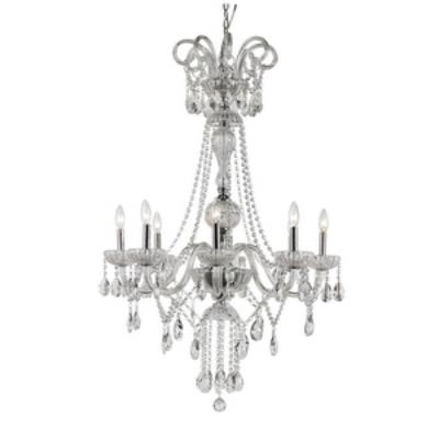 Trans Globe Lighting HL-8 PC HL - Eight Light Chandelier