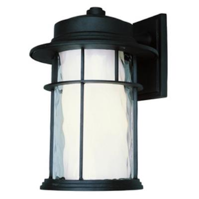 "Trans Globe Lighting LED-5292 BK LED - 17"" Outdoor Wall Lantern"