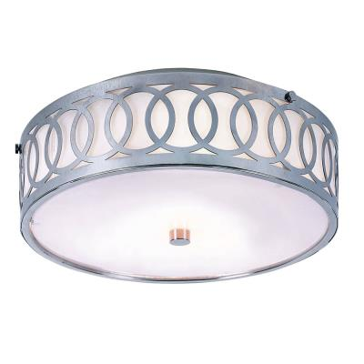 Trans Globe Lighting MDN-901 Modern - Three Light Semi-Flush Mount with Olympic Rings