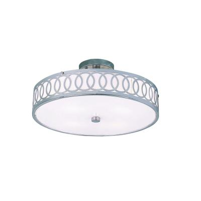 Trans Globe Lighting MDN-905 Modern - Four Light Semi-Flush Mount with Olympic Rings