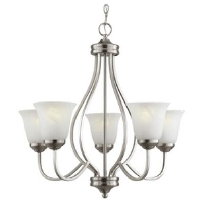 Trans Globe Lighting PL-10005 AGB Five Light Chandelier