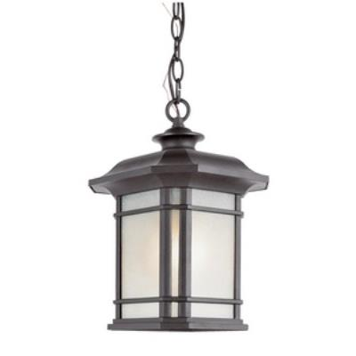 Trans Globe Lighting PL-5825 Corner Window - One Light Outdoor Hanging Lantern