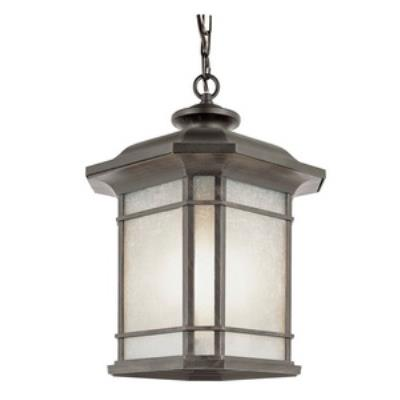 Trans Globe Lighting PL-5826 Corner Window - One Light Outdoor Hanging Lantern