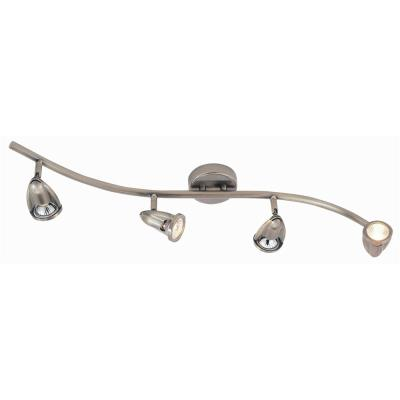 Trans Globe Lighting W-466 Modern Track Lights - Four Light Wave Track