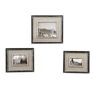 "Kalidas - 16.38"" Cloth Lined Photo Frame (Set of 3)"