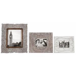 """Askan - 16"""" Wood Photo Frame (Set of 3)"""