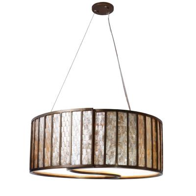 Varaluz Lighting 175P04 Affinity - Four Light Drum Pendant