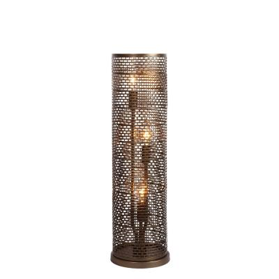 Varaluz Lighting 231T03NB Lit-Mesh Test - Three Light - Table Lamp