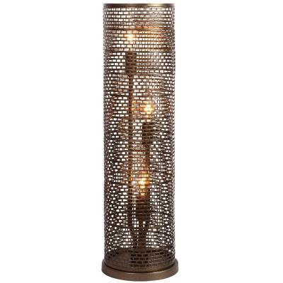 Varaluz Lighting 231T03NB Lit-Mesh Test - Three Light - Table Lamp